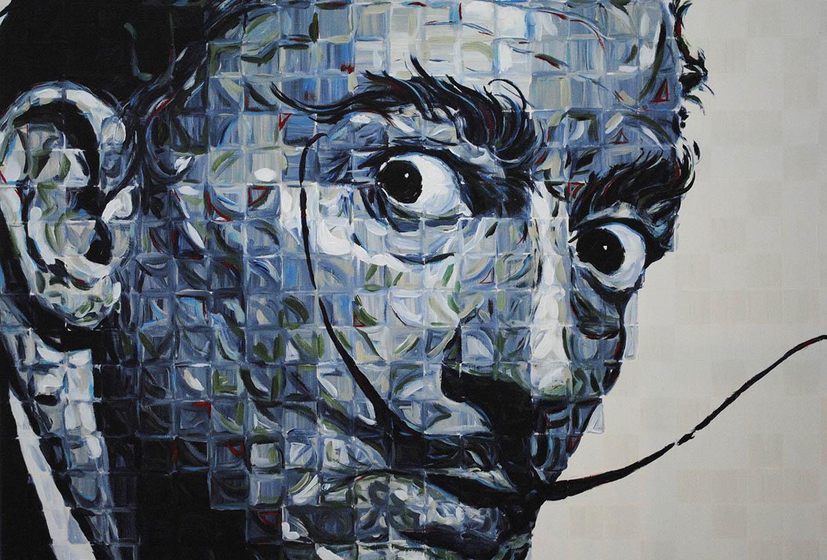 Salvador Dali Portrait Charlie Hanavich