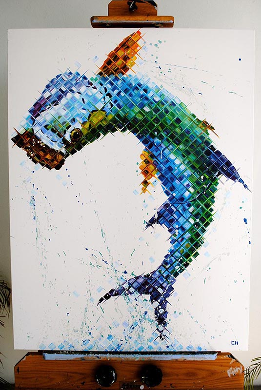 Charlie hanavich tarpon painting