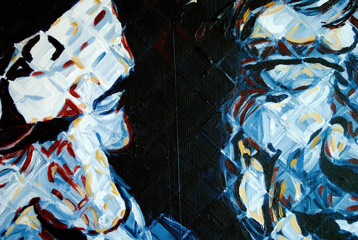 Rolling stones paintings