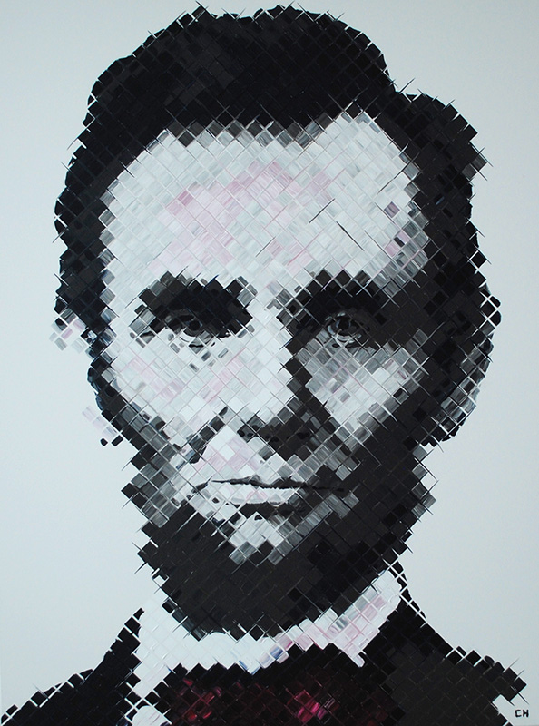 abraham lincoln contemporary painting charlie hanavich