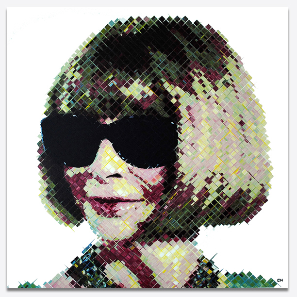 Anna Wintour Painting by Atlanta Artist Charlie Hanavich