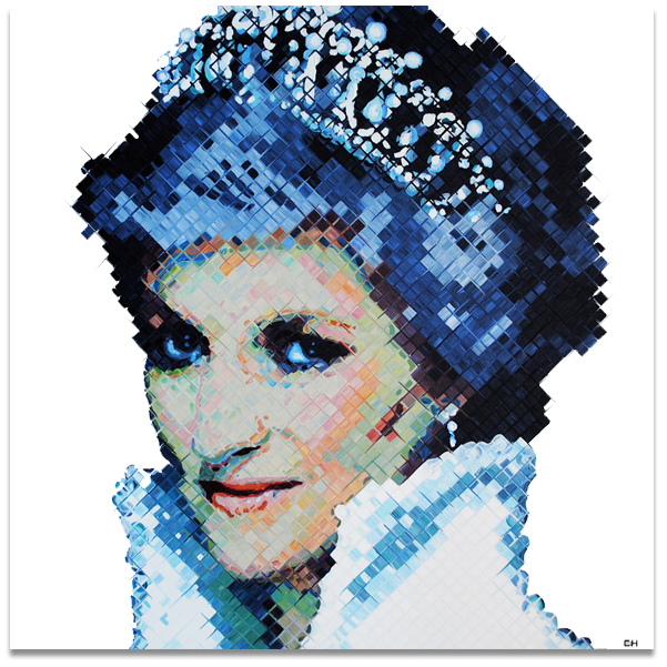 Princess Di Painting by Atlanta artist, Charlie Hanavich