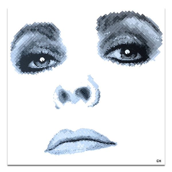 Charlie Hanavich Art Elizabeth Taylor