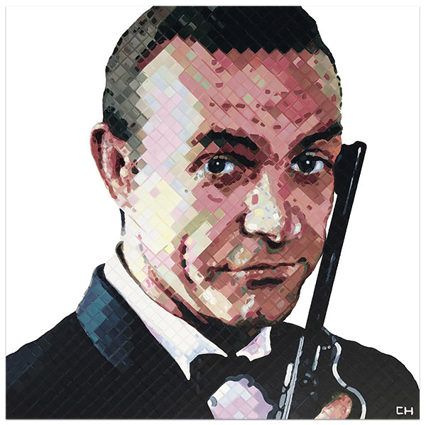 Sean Connery James Bond Painting by Charlie Hanavich