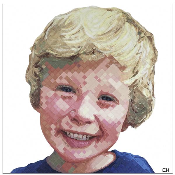 Harrison; Portrait Painting by Atlanta Artist Charlie Hanavich