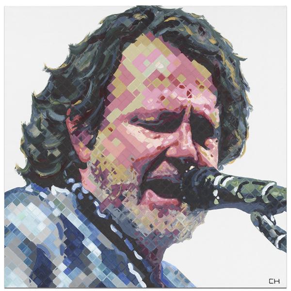 John; Bell; JB; Portrait Painting by Atlanta Artist Charlie Hanavich