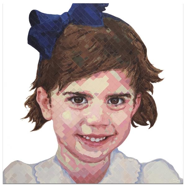 Portrait Painting by Atlanta Artist Charlie Hanavich